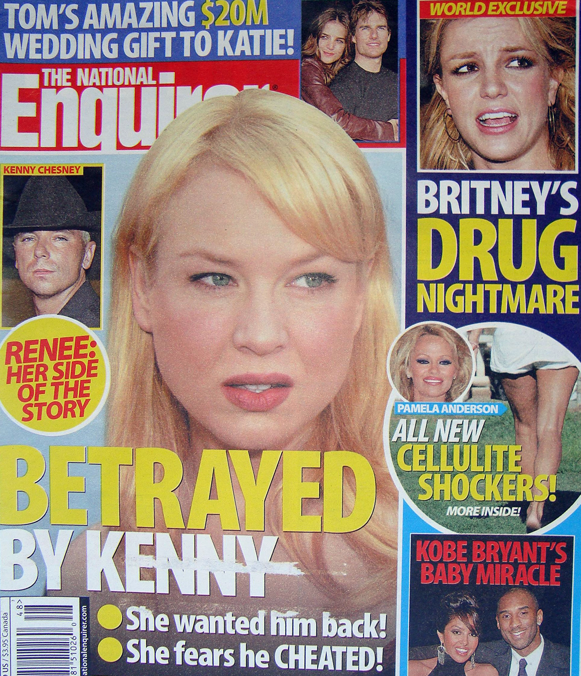 Steve Kemble Press, National Enquirer