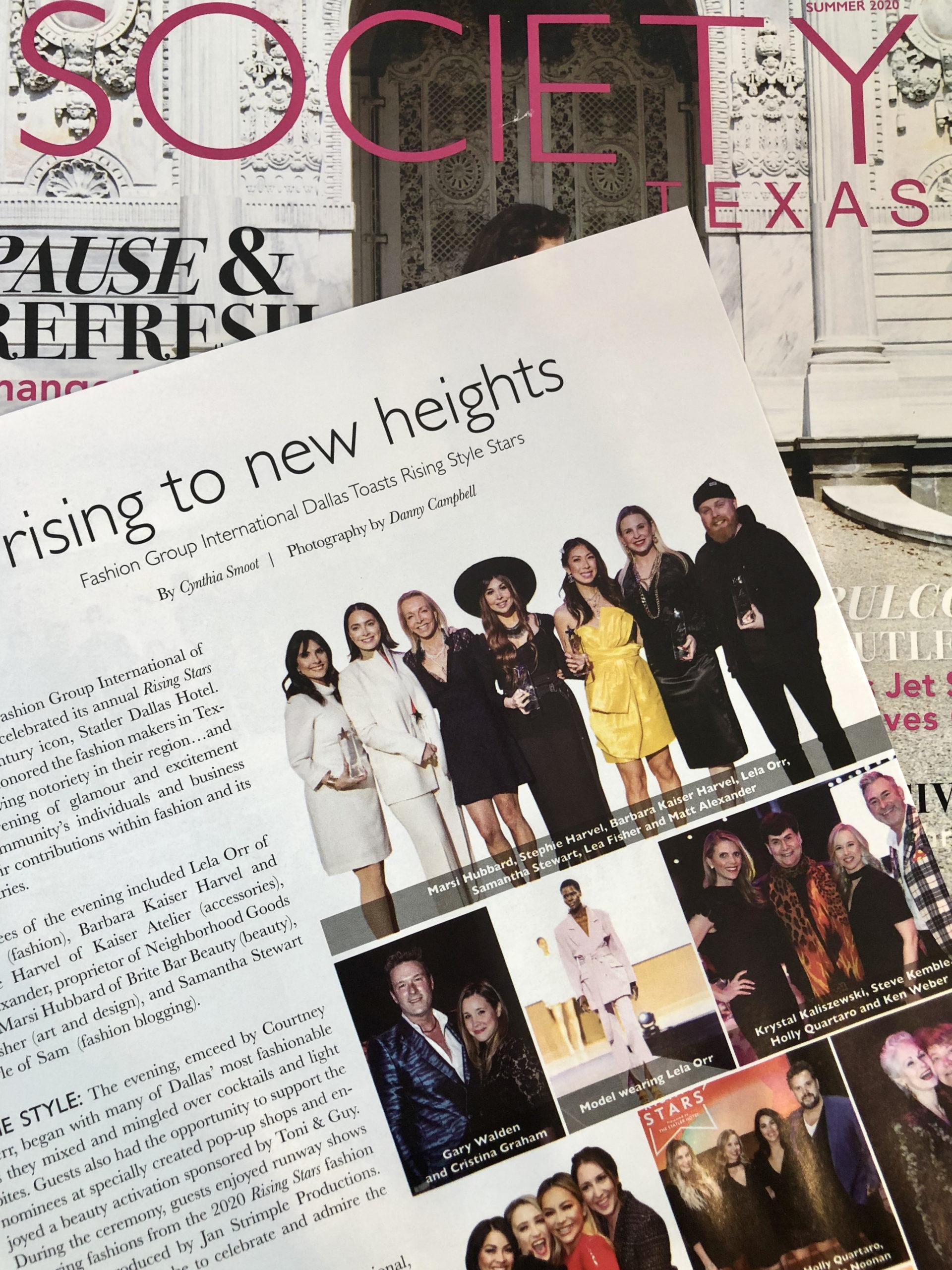 Steve Kemble Press, Society Magazine