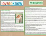 Steve Kemble Press, Weddings