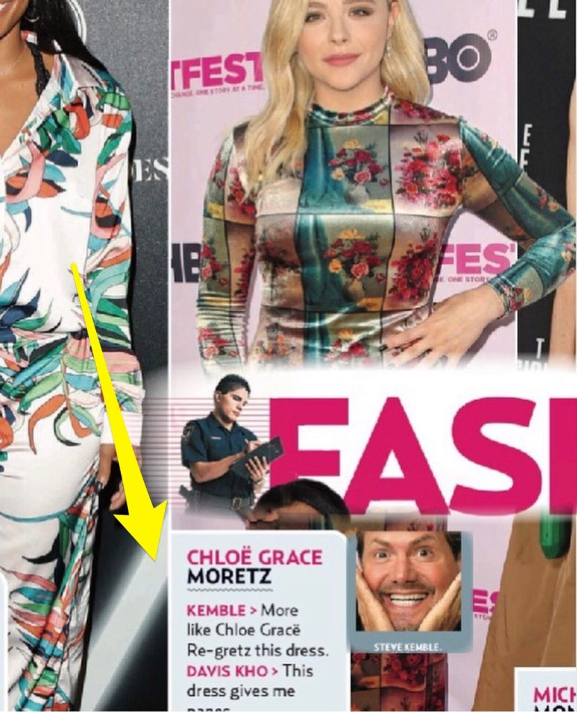 US Weekly Fashion Police with Steve Kemble, Chloe Grace Moretz