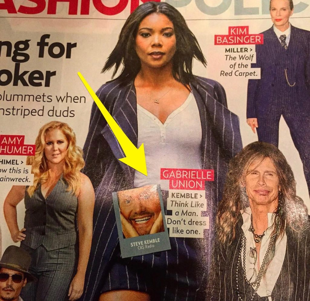 US Weekly Fashion Police with Steve Kemble, Amy Schumer, Gabrielle Union, Kim Basinger, Steven Tyler