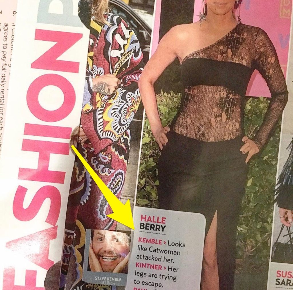 US Weekly Fashion Police with Steve Kemble, Halsey, Halle Berry